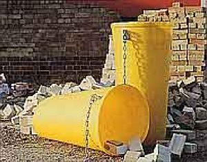 Rubbish chute - per section