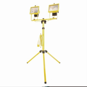 Flood Light on Tripod (500w/110v)